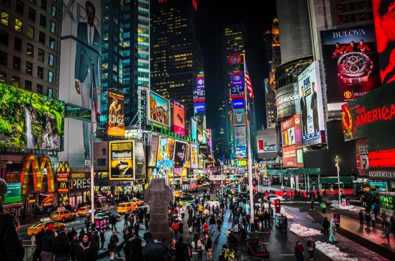 Таймс Сквер, Нью Йорк