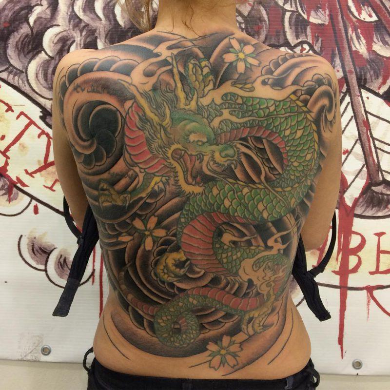 Татуировка в стиле ориентал