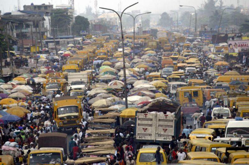 Пробка в Лагосе