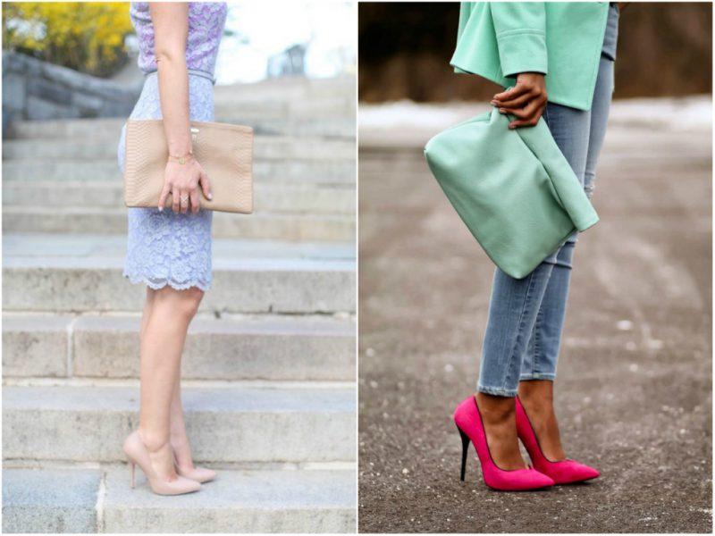 с чем носить туфли