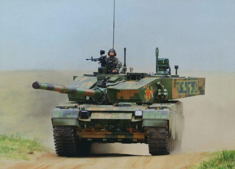 китайский танк