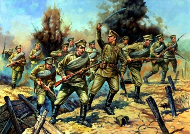 Вступление России в Первую Мировую войну, 1914 год