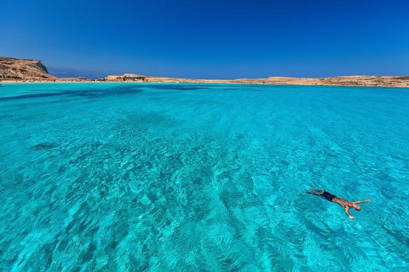 Эгейское море солнце