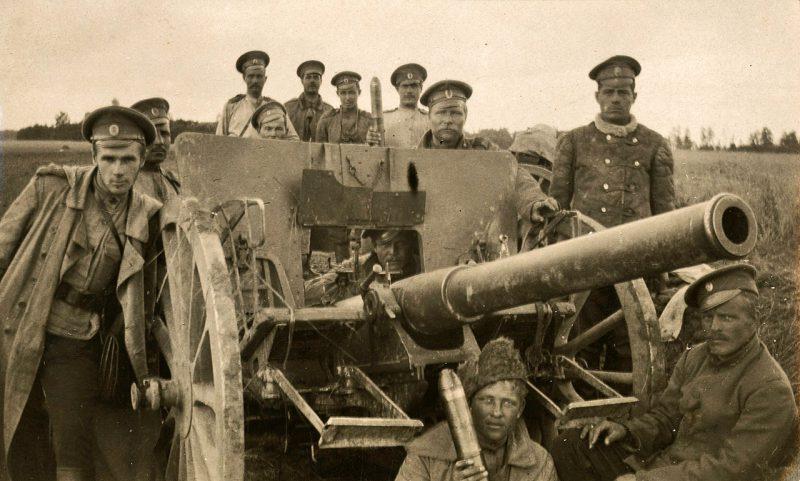 Вступление России в Первую Мировую войну, 1914