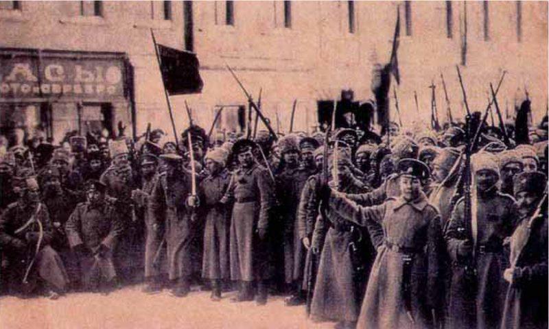 Петроградское восстание в 1917 году
