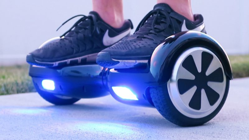 гироскутер с подсветкой