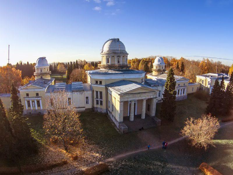 Пулковская обсерватория вид с высоты