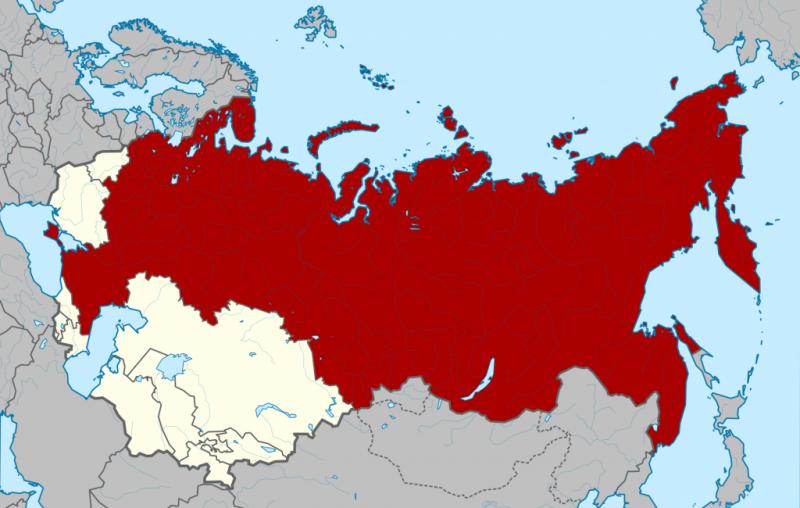 Образование СССР в 1922 году
