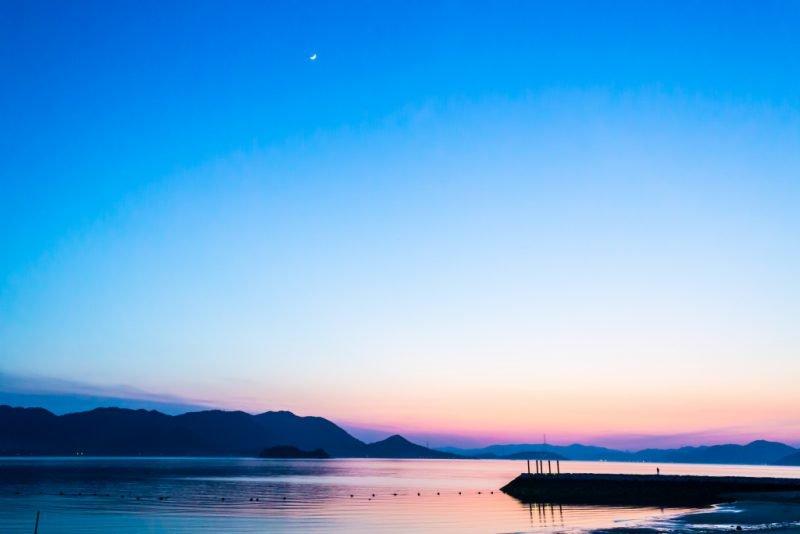 Японское море закат