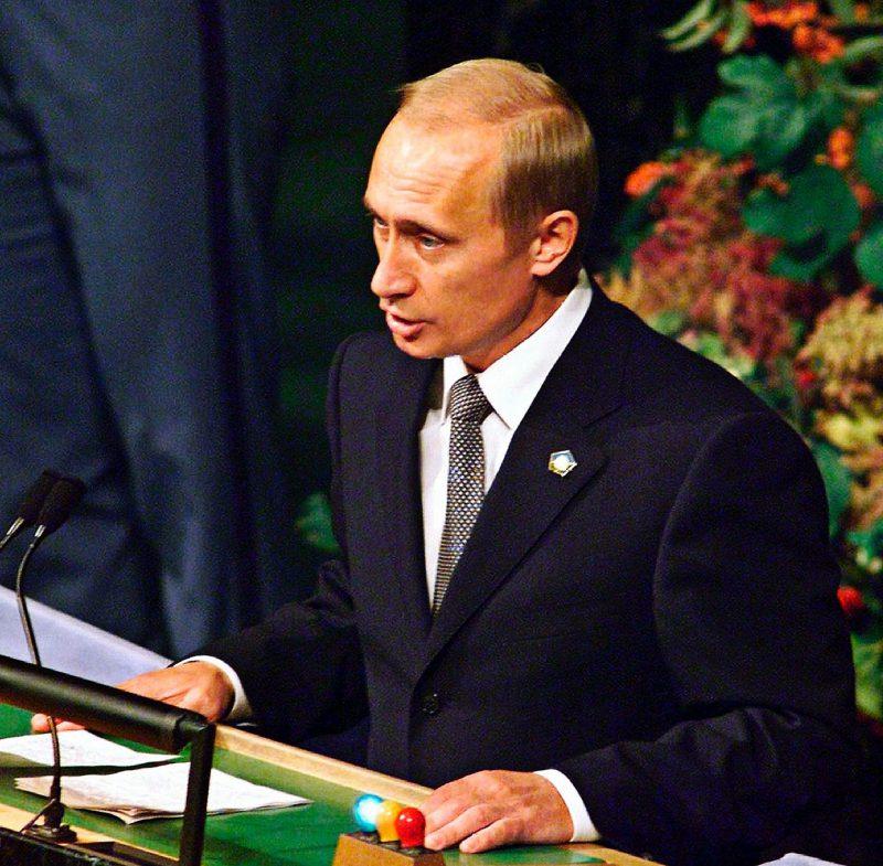 Владимир Путин стал президентом, 2000 год