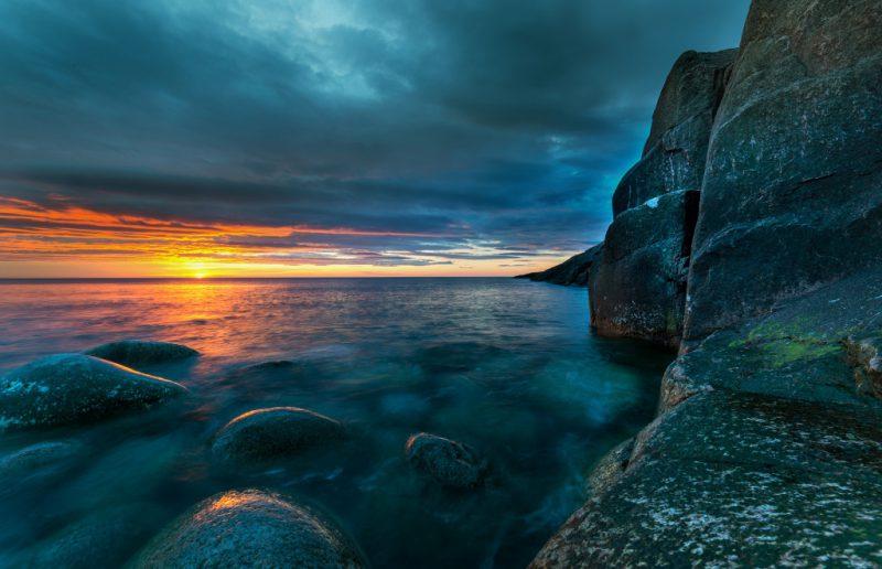 Баренцево море утро