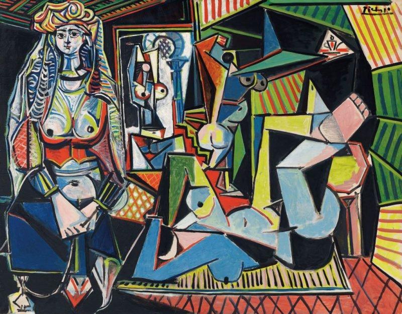 Пабло Пикассо «Алжирские женщины (версия О)»