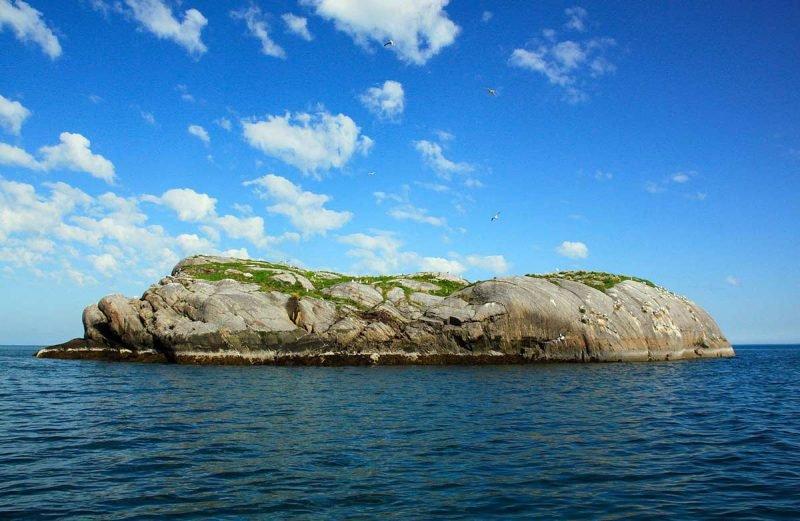 Баренцево море остров