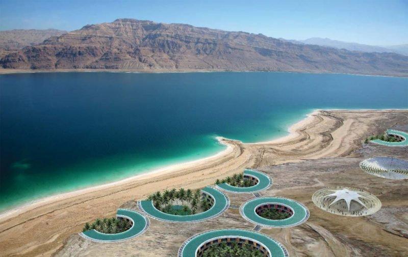Мертвое море берег