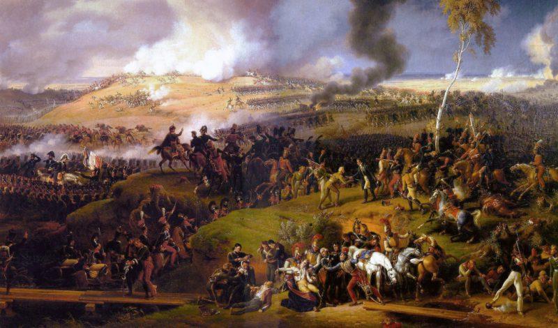 Сражение при Бородино в 1812 году