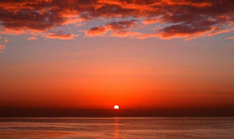 Красное море закат