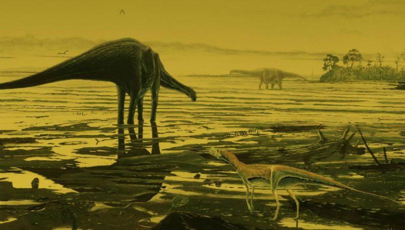 Динозавров погубили гусеницы