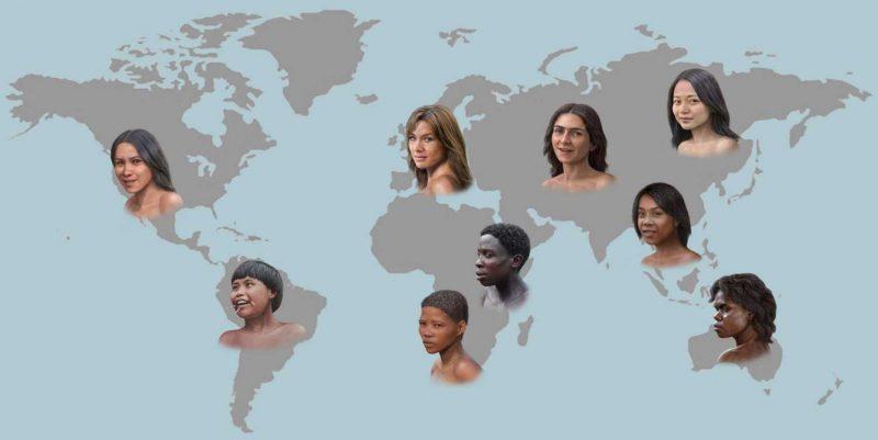 Древние жители Африки были светлокожими