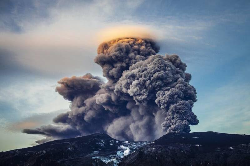 Древний Египет погубили вулканы