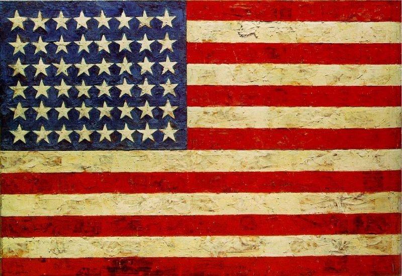 Джаспер Джонс «Флаг»