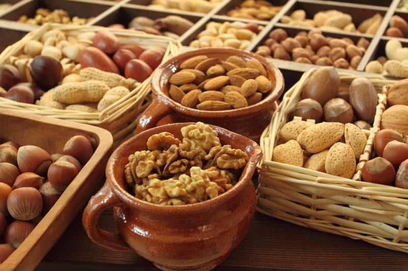 орехи разные