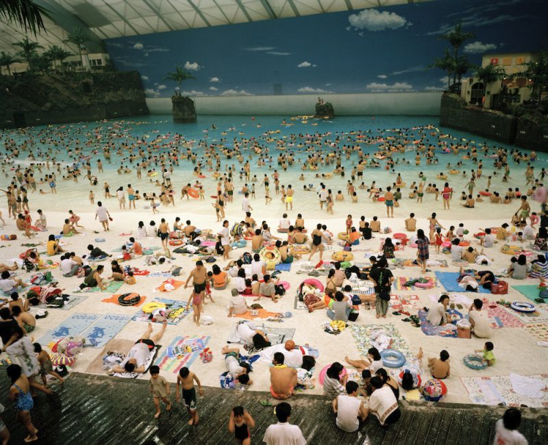 Океанский купол, Япония внутри