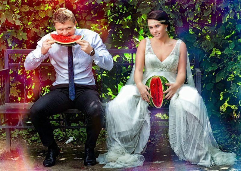 свадьба неудачное фото