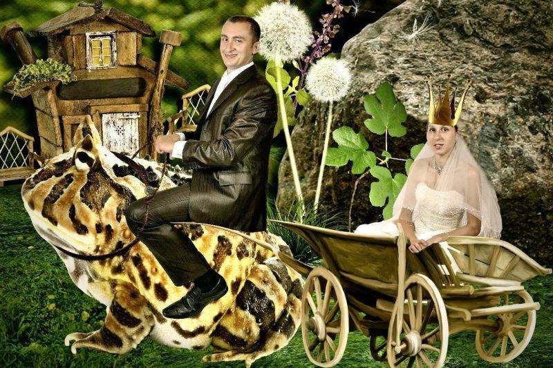 свадебный фотошоп
