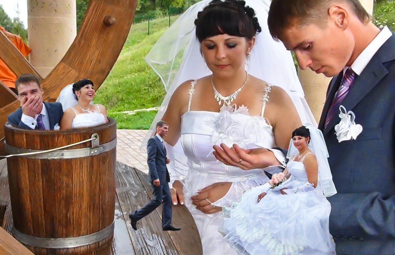 Прикольные картинки русская свадьба