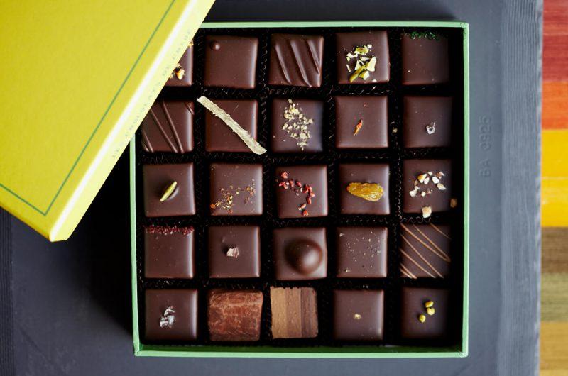 Le Chocolate Box конфеты