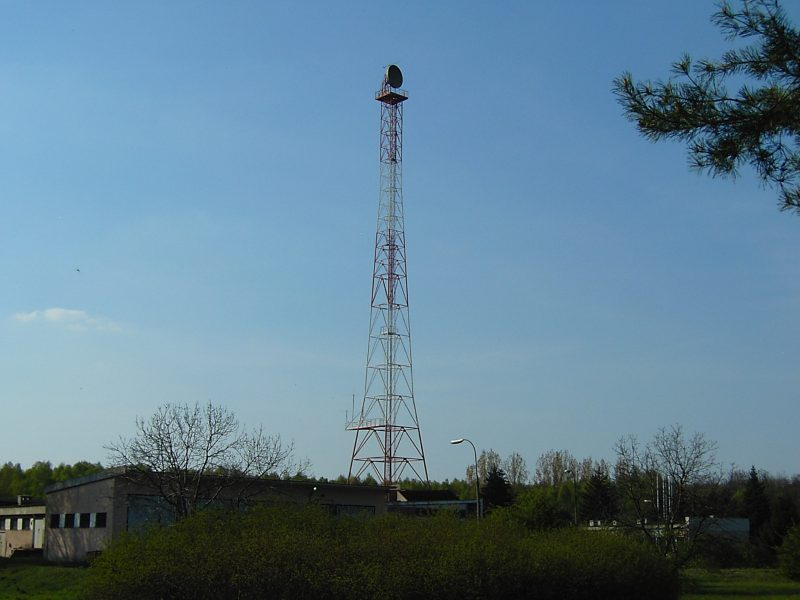 Варшавская радиомачта