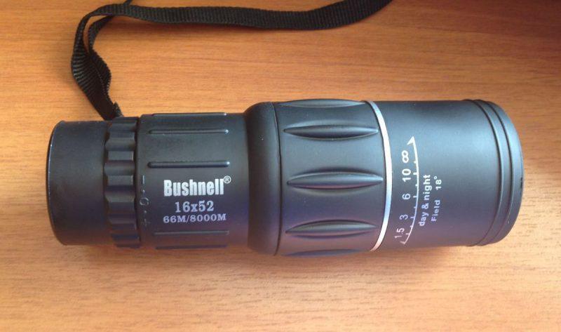 монокуляр Bushnell 16×52