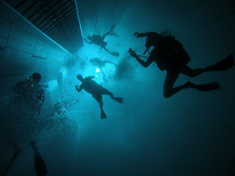 Nemo 33 дайвинг