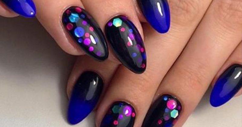 Красивые ногти. Камифубуки.