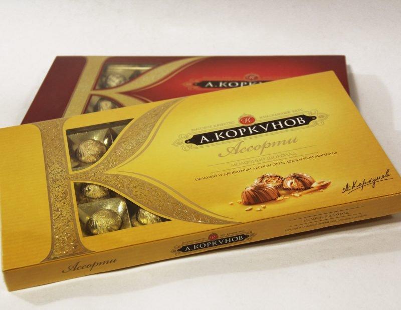 Шоколадный набор «А. Коркунов»