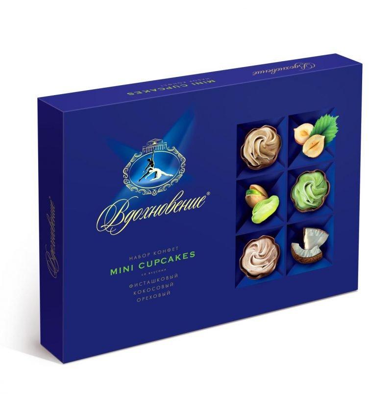 конфеты в коробке Вдохновение