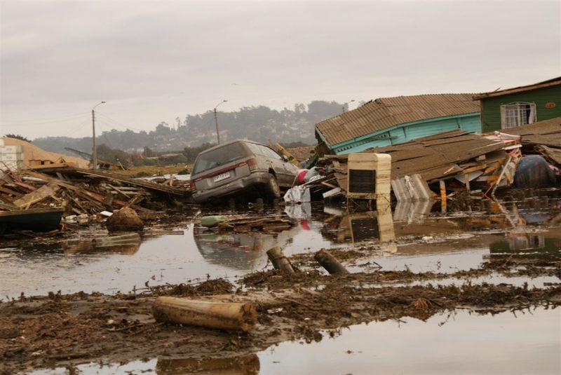 цунами Чили, 2010