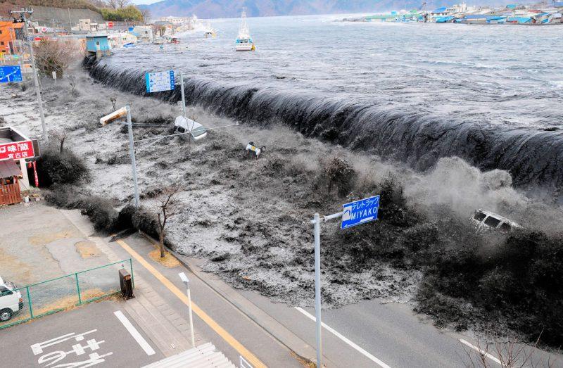 цунами Япония, 2011