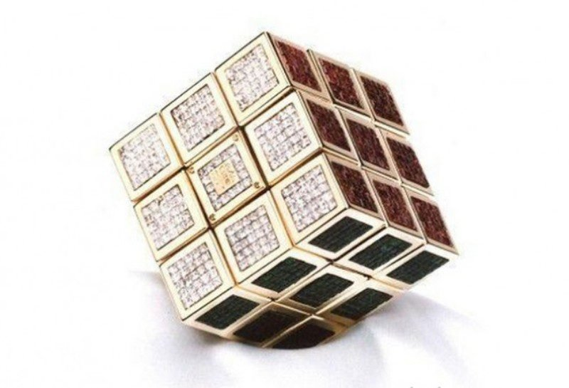 Самый дорогой кубик Рубик