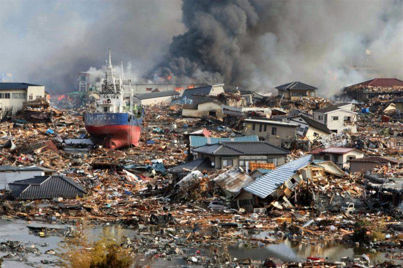 катастрофа Япония, 2011