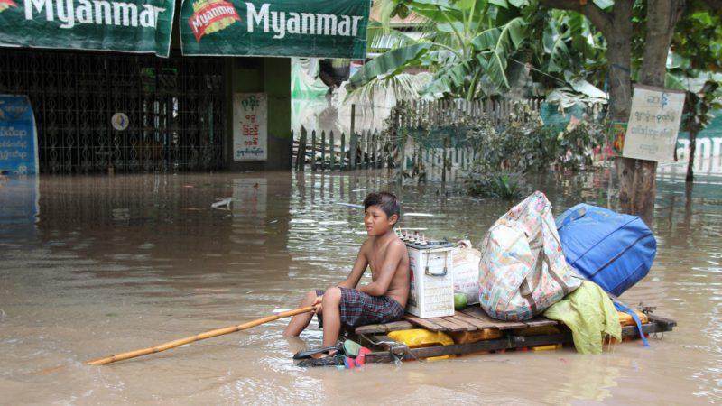 потоп Мьянма, 2008