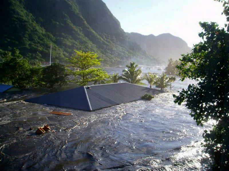 цунами Самоа, 2009