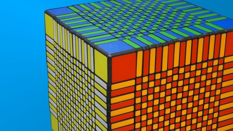 большой кубик Рубик