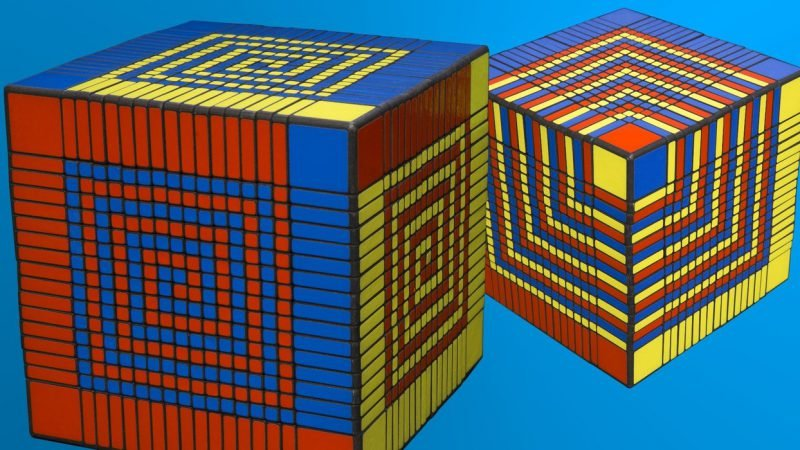 большой кубик Рубика
