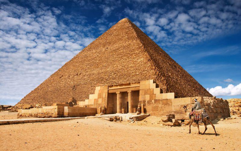 Самая большая пирамида в Египте