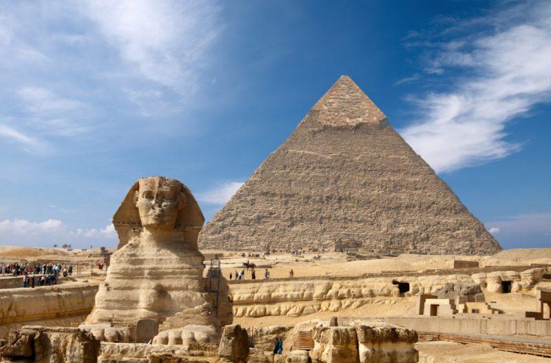 самая высокая пирамида в Египте