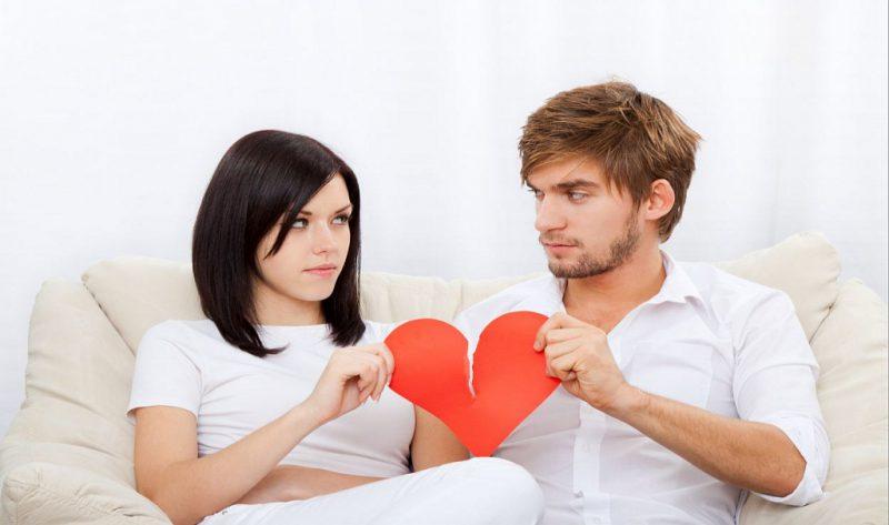 Статистика причин развода