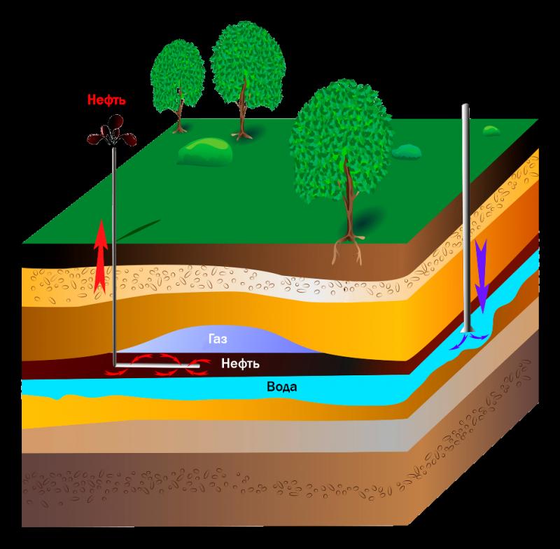 залежи нефти