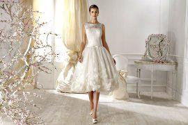 Короткие свадебные платья – праздничный минимализм