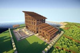 Как построить дом в майнкрафте?
